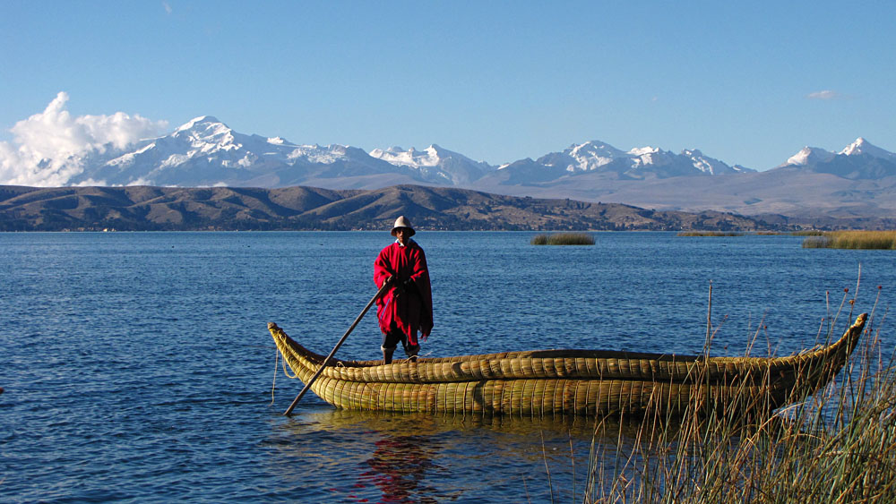 Lake Titicaca, birthplace of the first Inca King and Queen