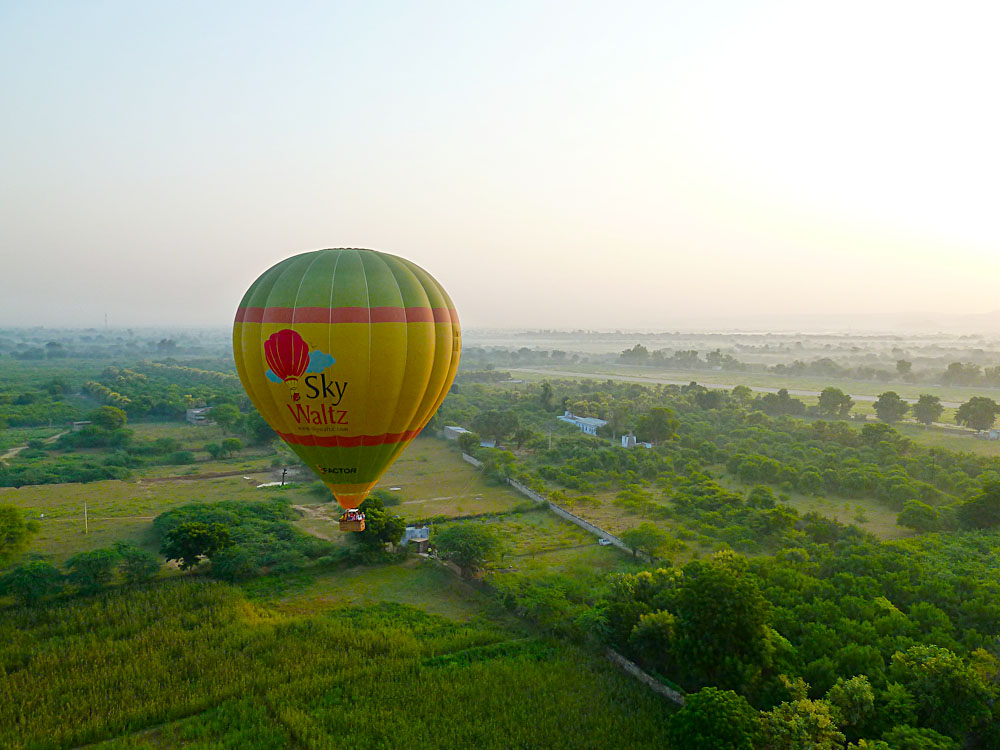 Sky Waltz Balloon Aerial, India