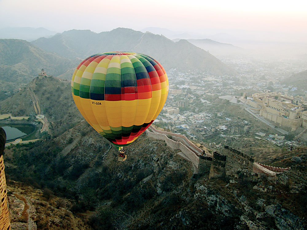 Imagine Hot Air Ballooning In Exotic India Goway
