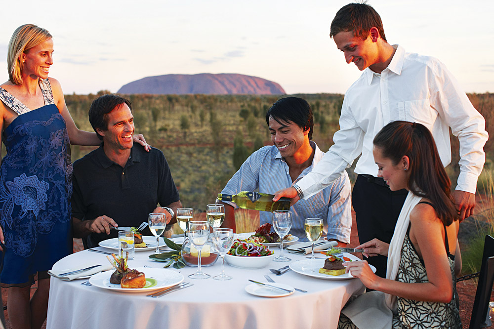 Sounds of Silence Dinner, Ayers Rock