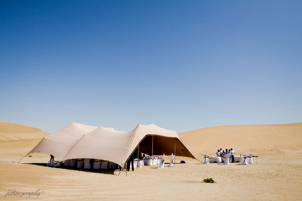 Desert wedding | Photo courtesy of Susan Nel Photography