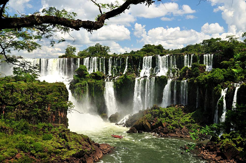 Iguassu Falls, Brazil and Argentina