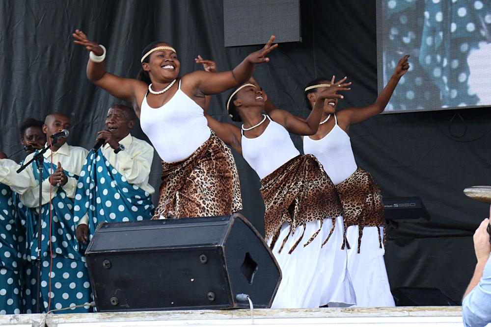 Kwita Izina dancers | Photo credit: Rwanda Development Board