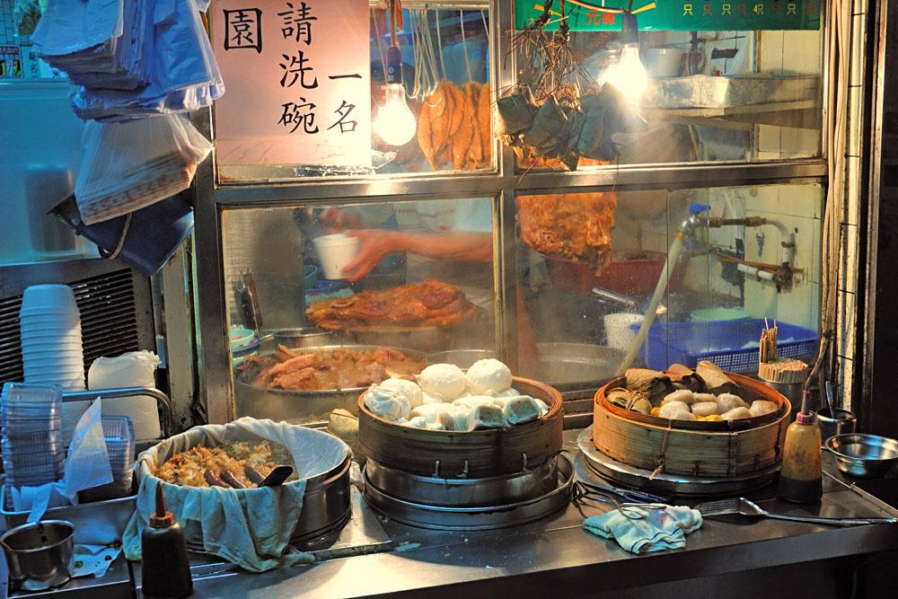 Street Dumplings in Hong Kong