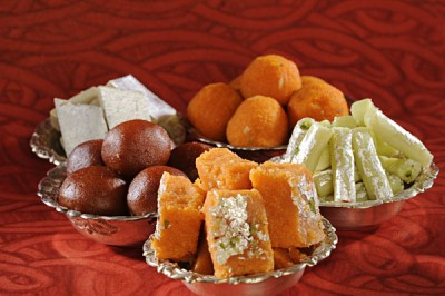 Traditional Indian sweets