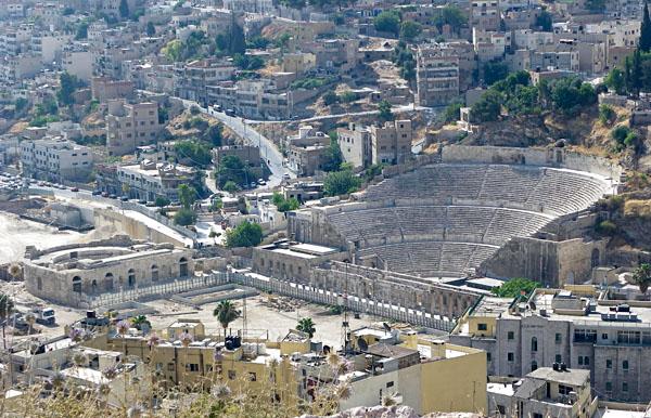 Ampitheatre in Amman