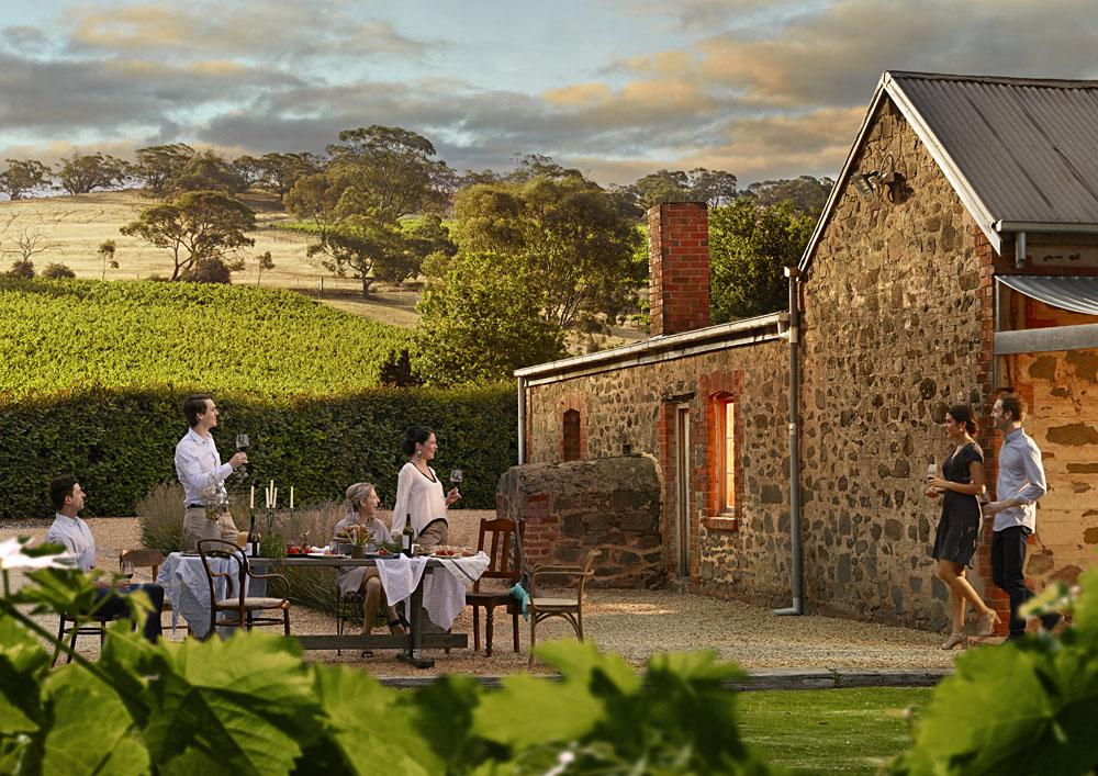 Dining, Barossa Valley, Australia
