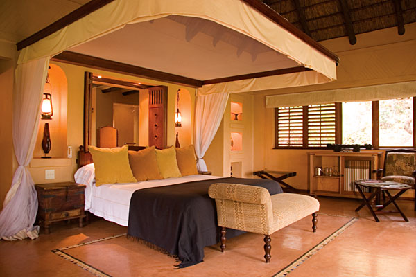 Accommodation at Chobe Chilwero