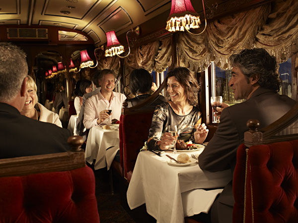 Dining at Colonial Tramcar Restaurant