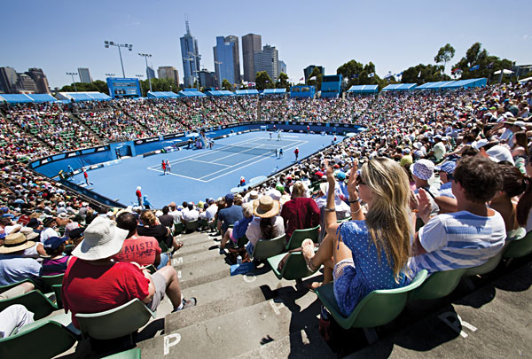 Melbourne is host to the Australian Open | Photo credit: Greg Elms - Melbourne Feb 2012