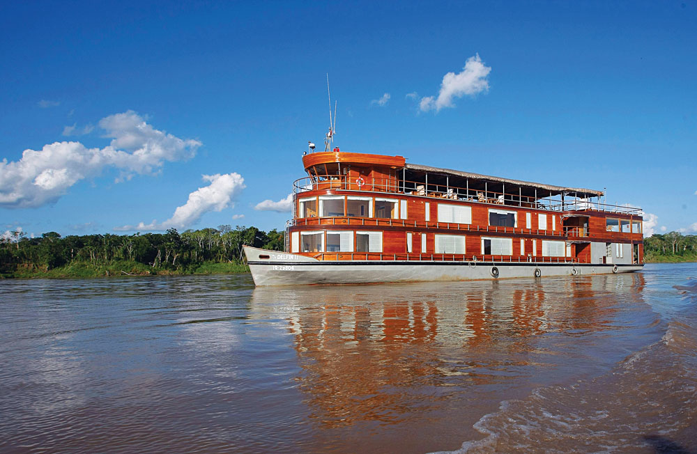 Delfin II cruise, Amazon, Peru