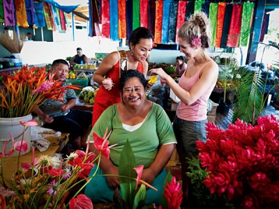 Friendly Samoan smiles