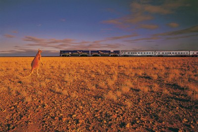 Indian Pacific train, Australia