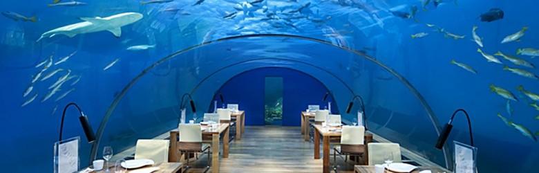Ithaa Undersea Restaurant, Conrad Maldives Rangali Island, Maldives