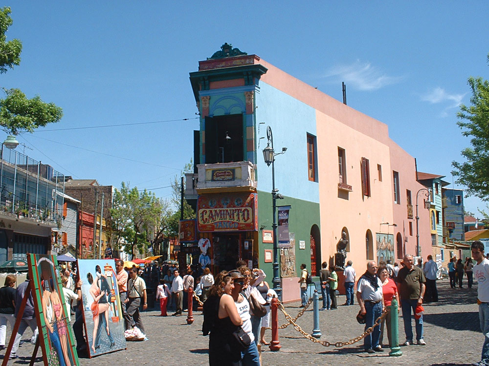 La Boca Corner, Buenos Aires, Argentina