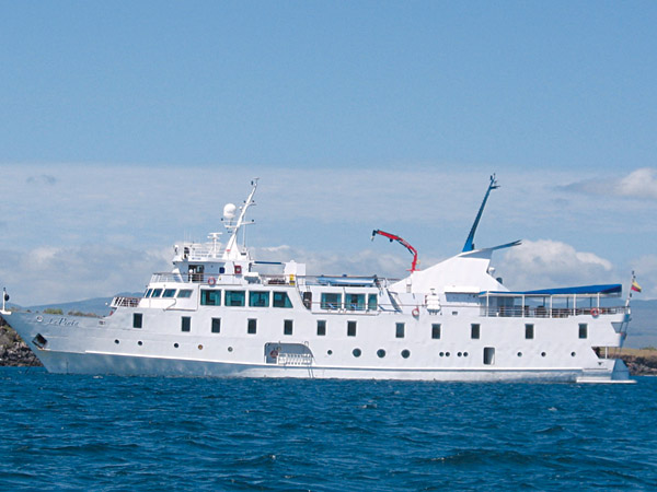 M/V La Pinta vessel, Galapagos Island, Ecuador