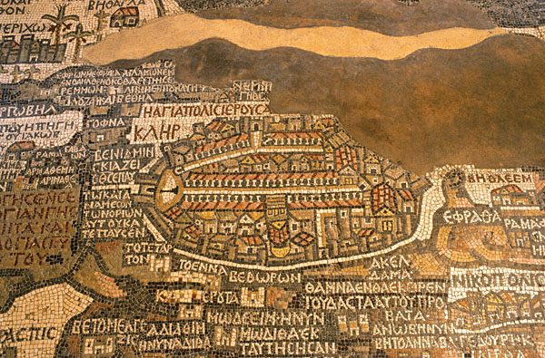 Madaba's Mosaic Map