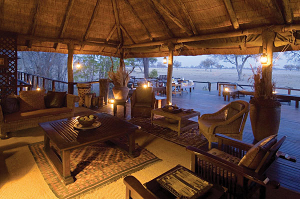 Lounge area at Little Makalolo   Photo credit: Dana Allen
