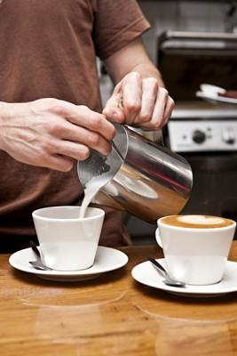 Making a Flat White Coffee, Australia