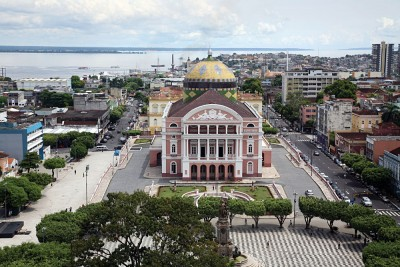 Amazon Theatre in Manaus, Brazil