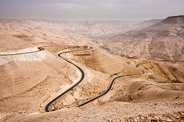 Travel through massive canyons on the King's Highway