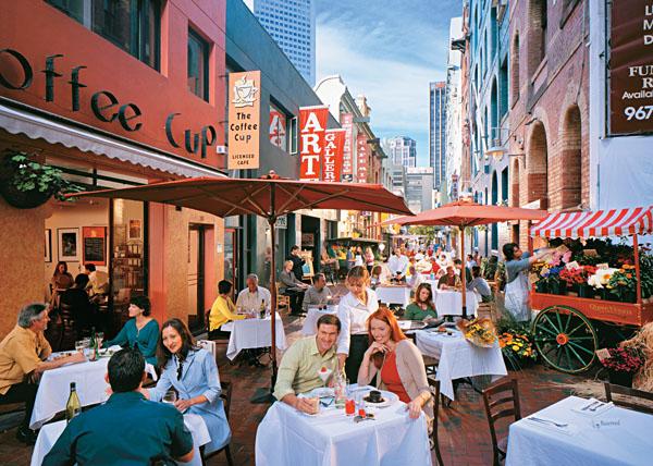 Melbourne Cafes, Australia