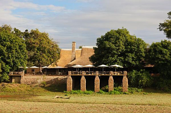 Main building and deck at Mfuwe Lodge | Photo credit: Tony Heald