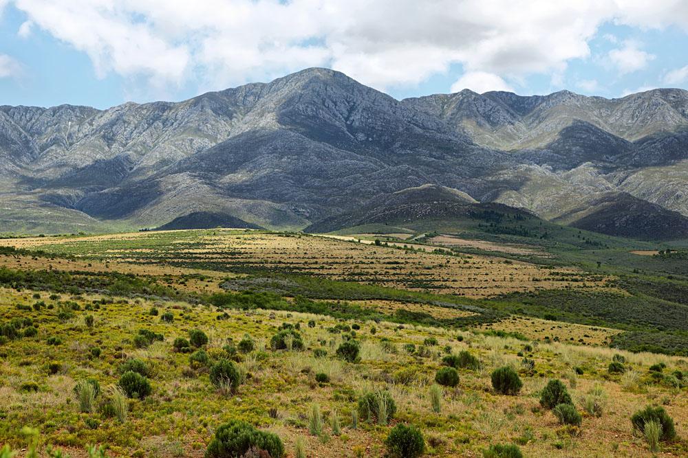 Mountain landscape near Oudtshoorn, South Africa