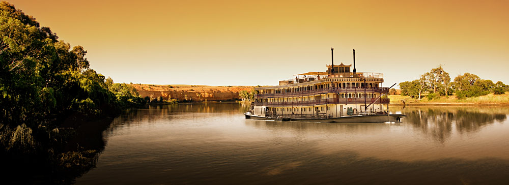 Murray Princess cruise on Murray River, Australia