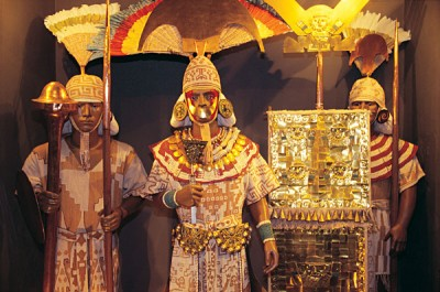 Museum of the Royal Tombs of Sipan Figures, Peru