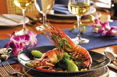 Pandaw cruises cuisine, Asia
