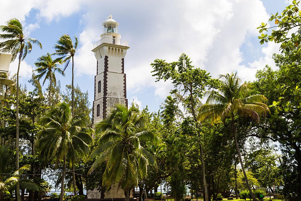 Pointe Venus Lighthouse in Tahiti