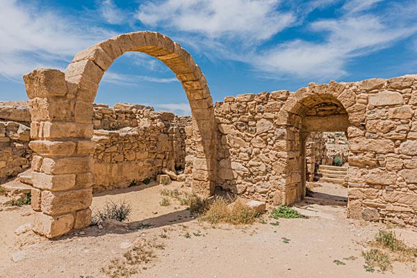 Roman ruins at Um Ar Rasas