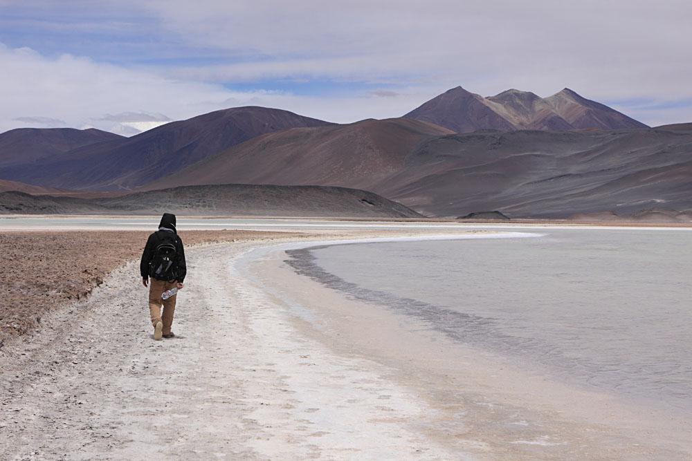 San Pedro de Atacama beach, Chile