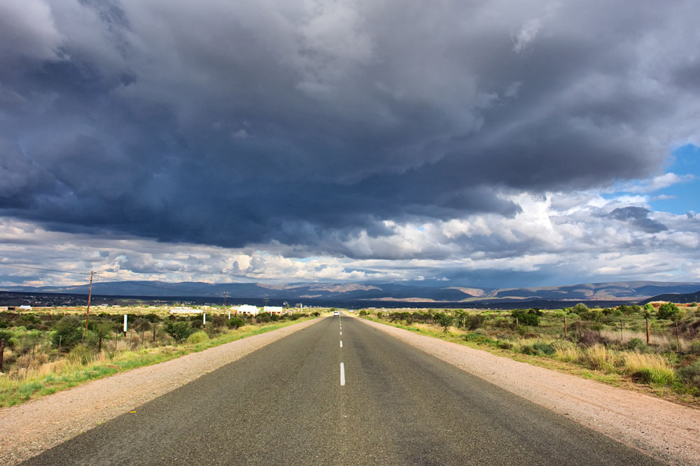R62 road, near Oudtshoorn, Western Cape, South Africa