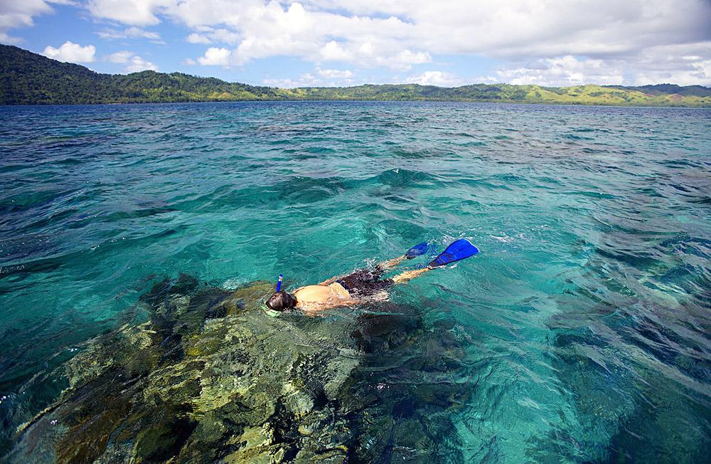 Fiji snorkel