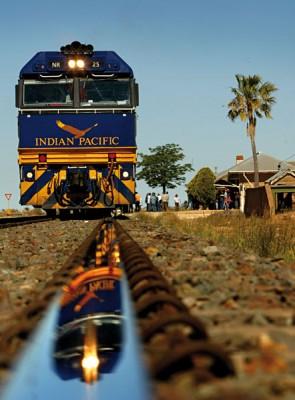 The Indian Pacific Train, Australia