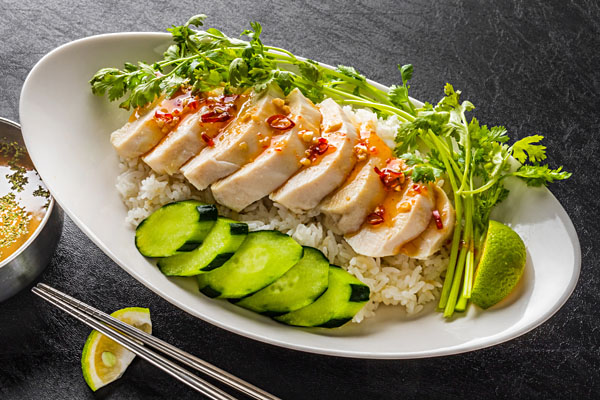 Hainanese Chicken Rice, Singapore