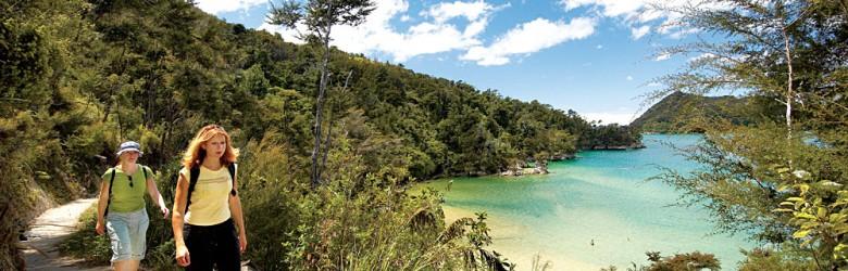 Hiking the Abel Tasman Coastal Track, New Zealand