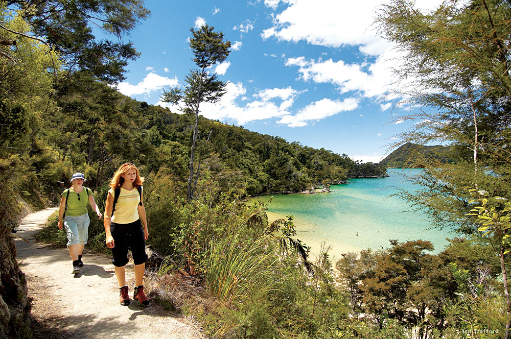 Hiking the Abel Tasman Coastal Track, New Zealand