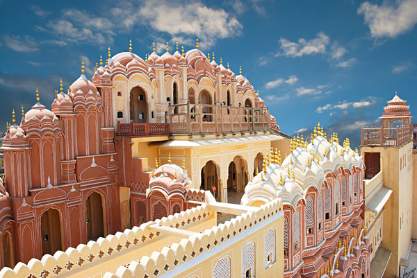 Palace of Winds in Jaipur, India