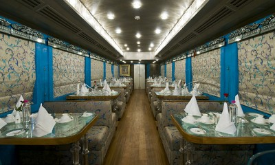 Royal Rajasthan on Wheels - Sheesh Mahal Restro Lounge, India