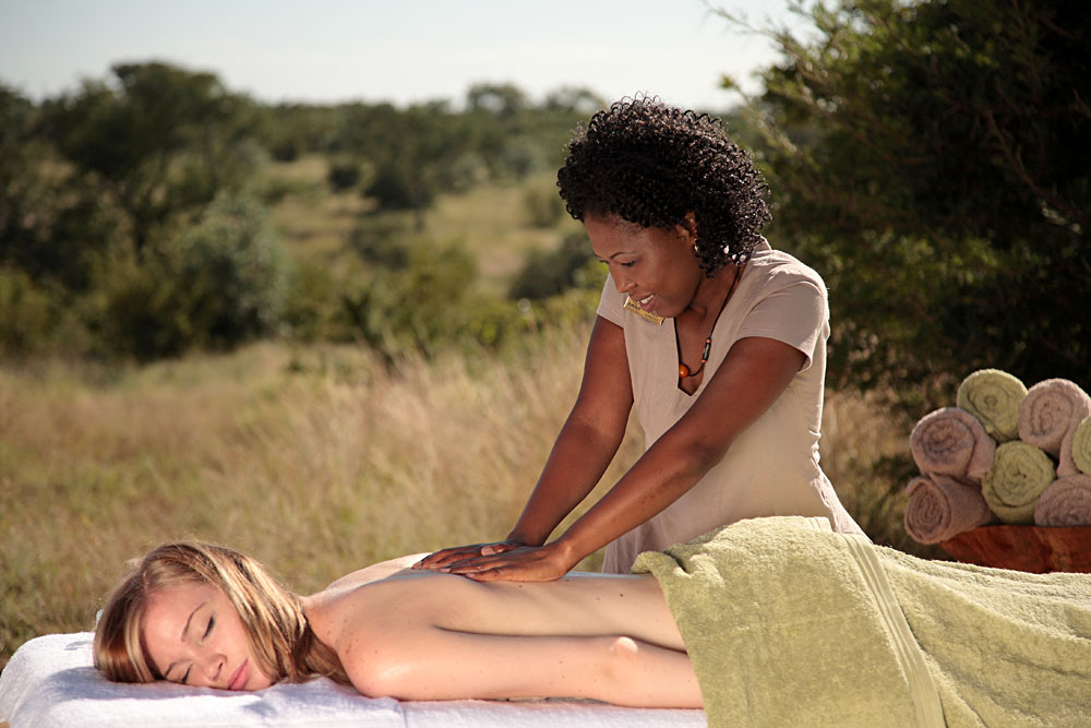 Sabi Sabi Earth Lodge - Amani Spa Massage, South Africa