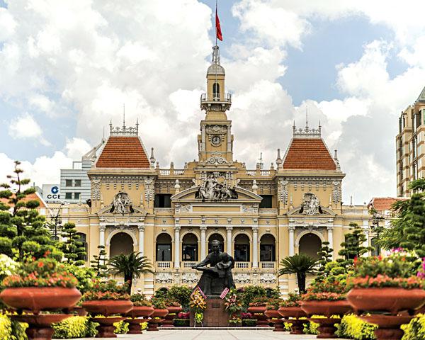 Saigon Central Post Office, Ho Chi Minh City, Vietnam
