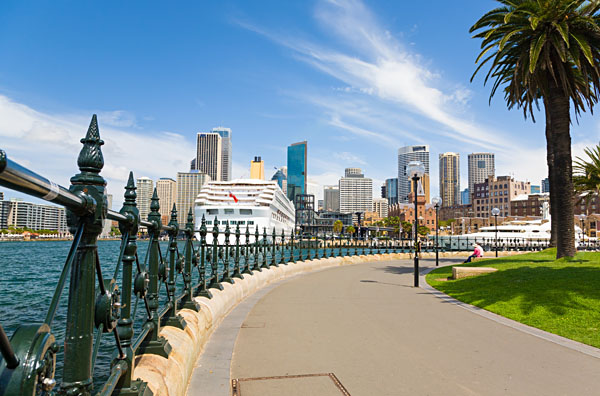 Sydney Central Business District from Dawes Point Park, Australia