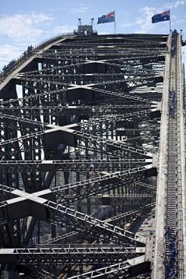 Climbing the Sydney Harbour Bridge, Sydney, Australia