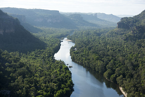 East Alligator River Aerial View, Kakadu National Park, Northern Territory, Australia