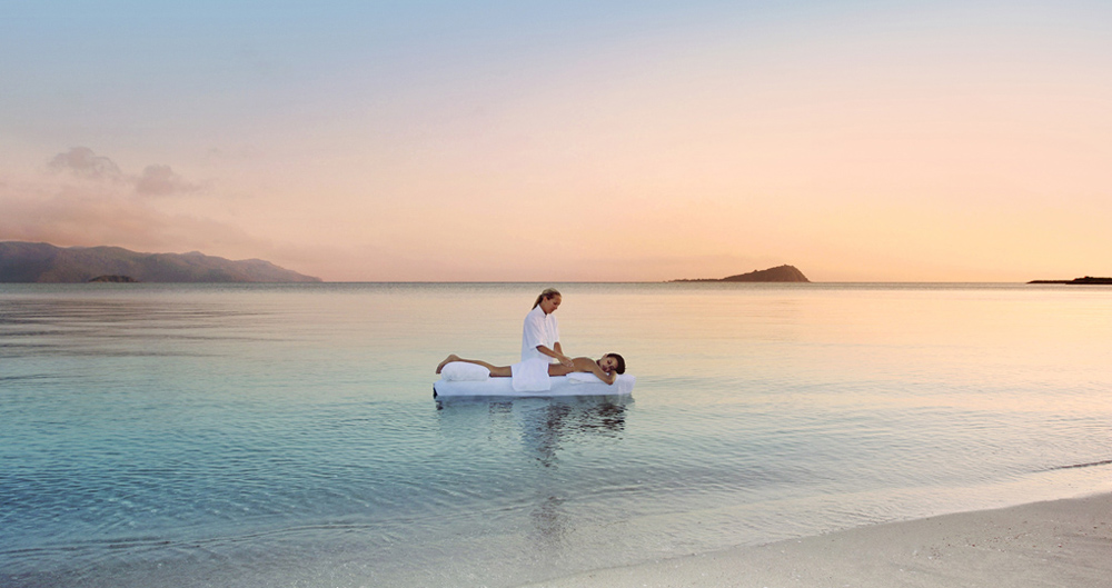 Hayman Island Massage on Beach, Australia