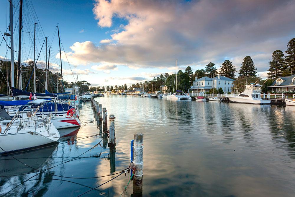 Port Fairy on the Great Ocean Road, Victoria, Australia