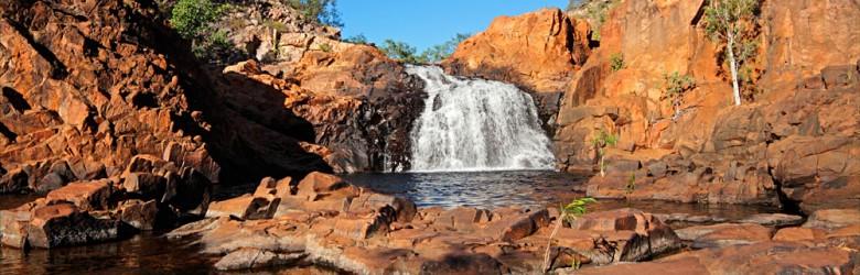 Small Waterfall and Pool, Kakadu National Park, Northern Territory, Australia